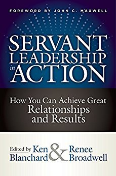 leadership is about serving. Cover of Leadership In Action