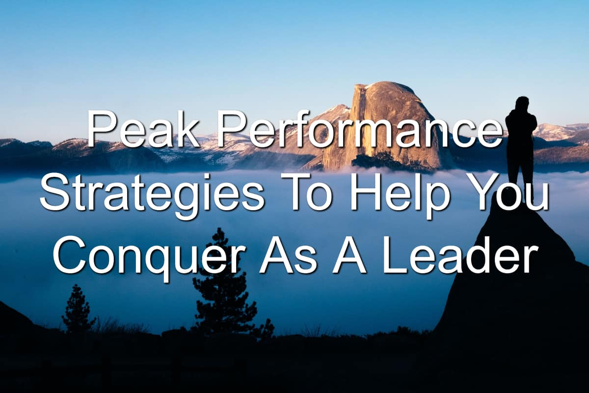 Unlock your peak performance with these strategies