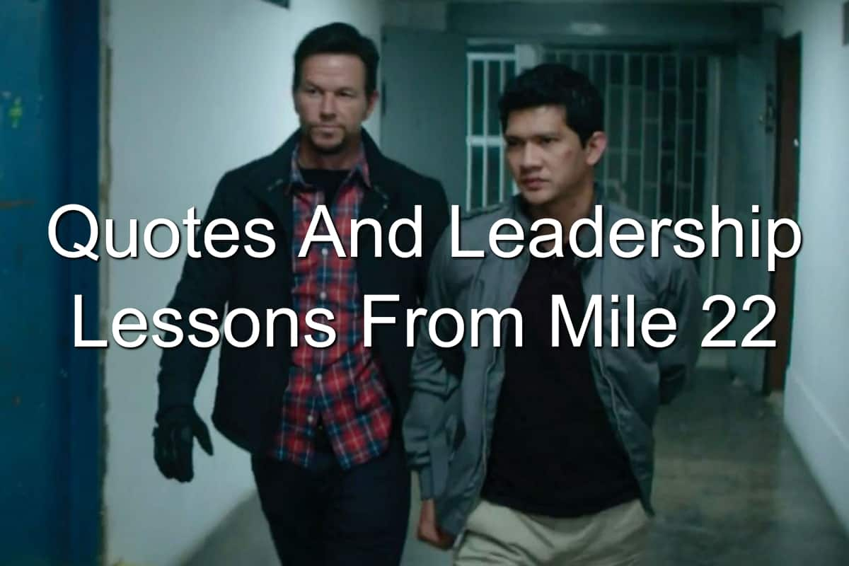 Mark Walhberg and Iko Uwais in Mile 22