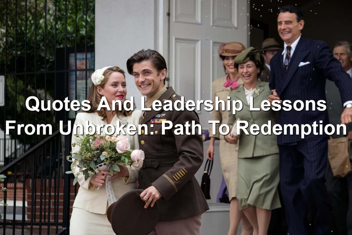Cynthia and Louie marry Unbroken Pathway To Redemption movie