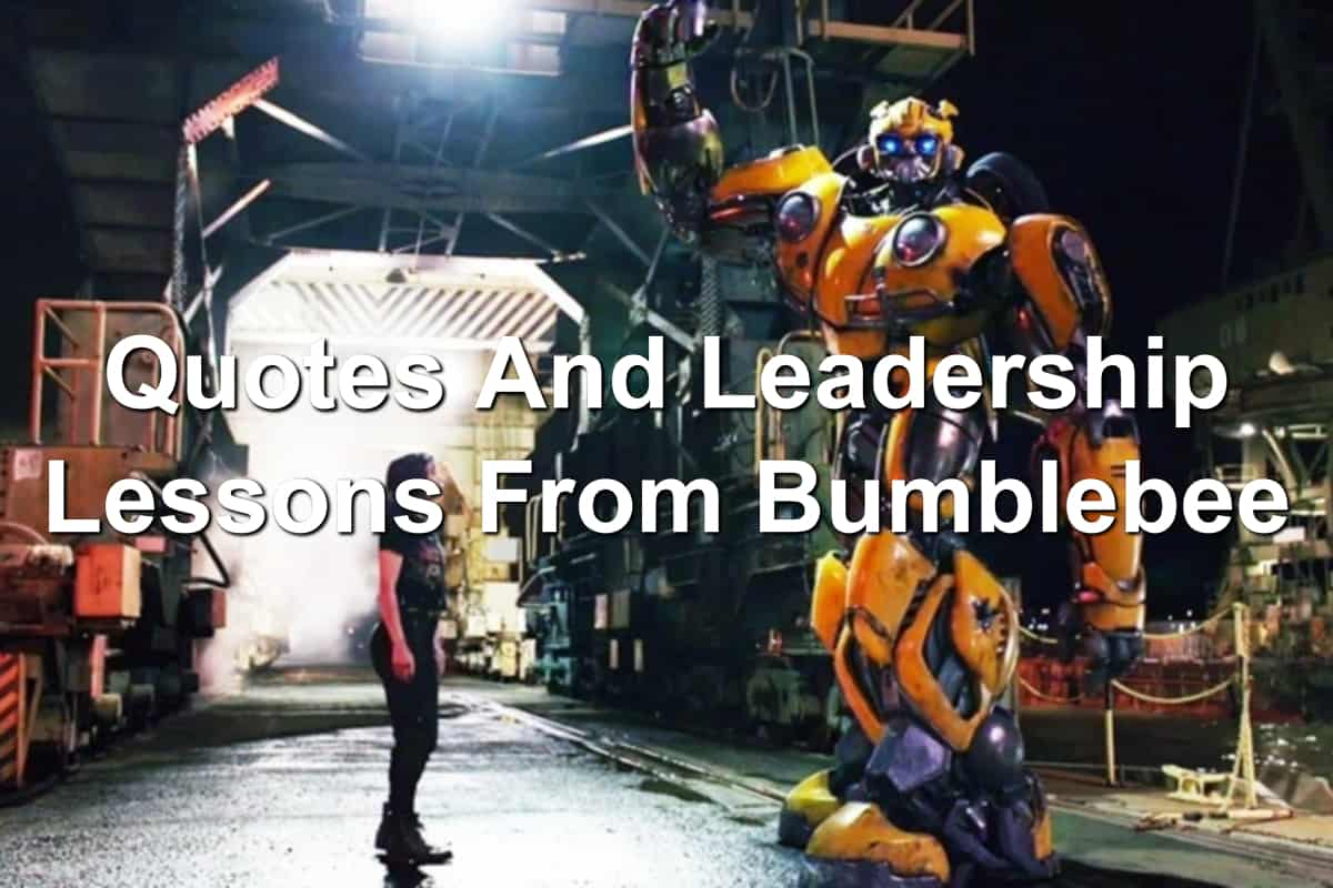 Leadership lessons from Transformers Bumblebee