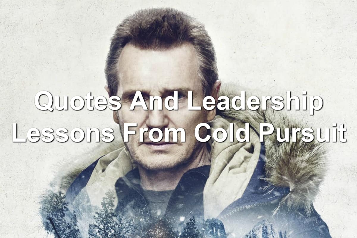 Movie poster of Liam Neeson as Nels Coxman in Cold Pursuit