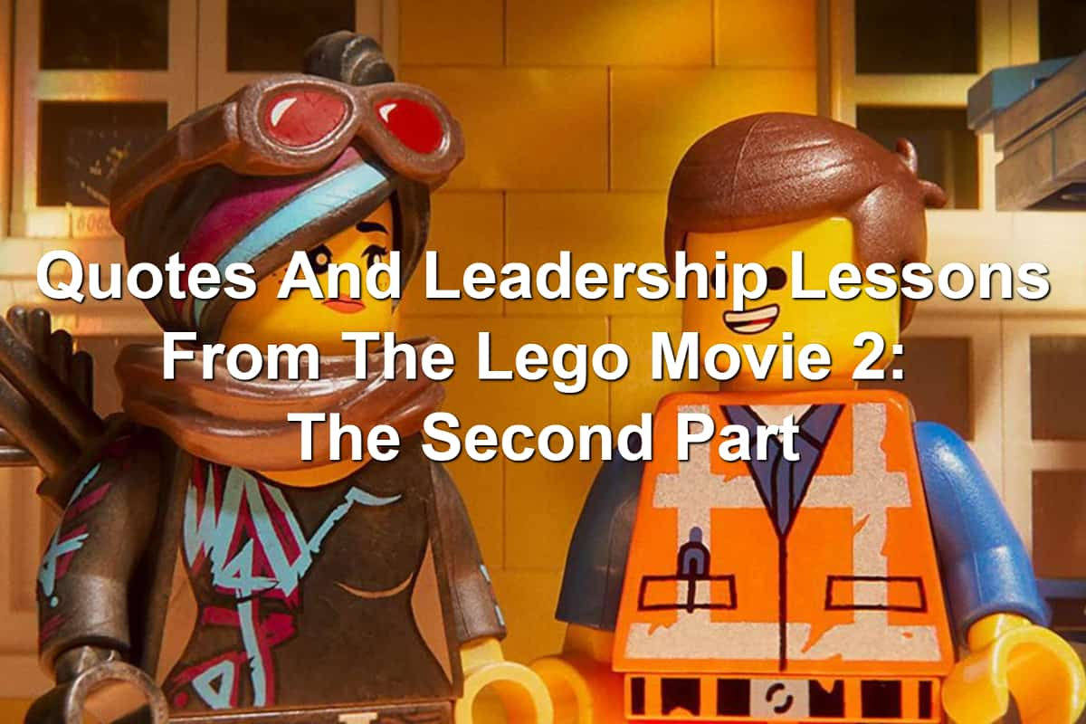 Lucy and Emmet in The Lego Movie 2: The Second Part