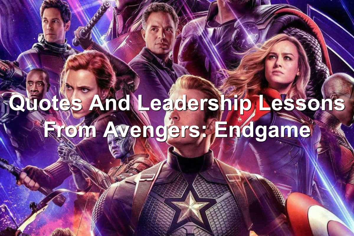 Cast of Avengers: Endgame on poster
