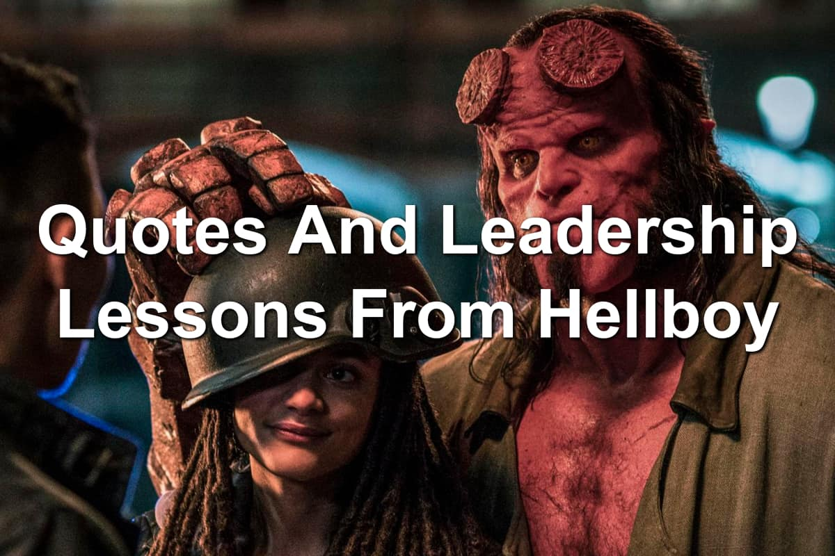 Hellboy, Alice, and Major Ben Daimio in the new Hellboy movie 2019