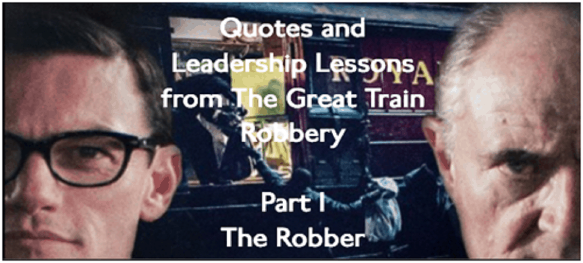 Characters from the TV movie The Great Train Robbery