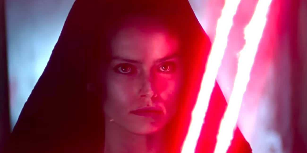 Image of a Dark Rey from The Rise Of Skywalker