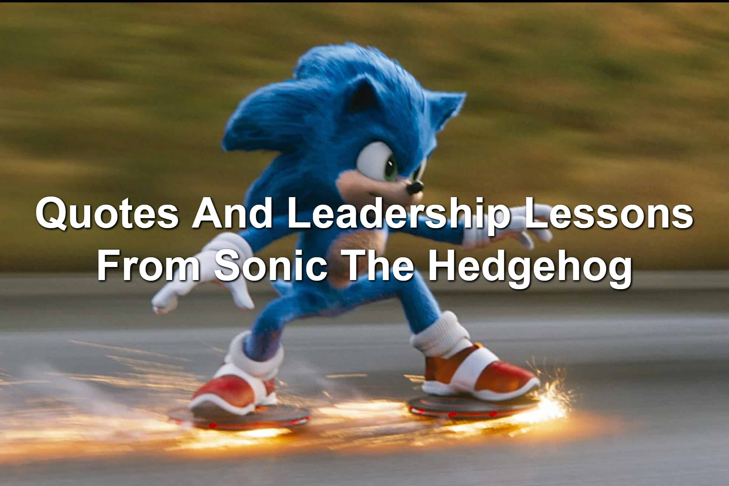 Sonic the Hedgehog live action movie clip with sonic skidding on the street