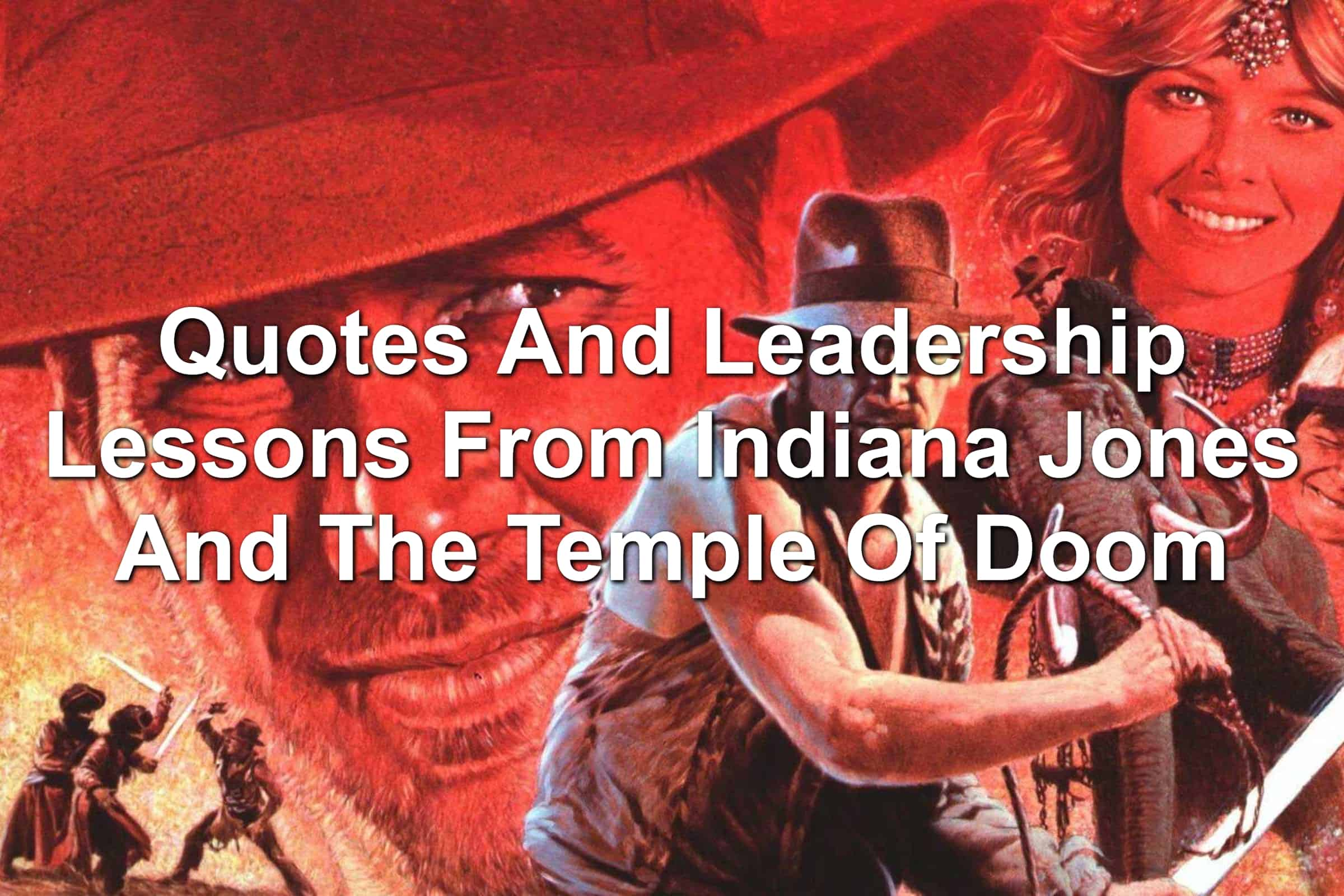 Promotional image for Indiana Jones and the Temple of Doom