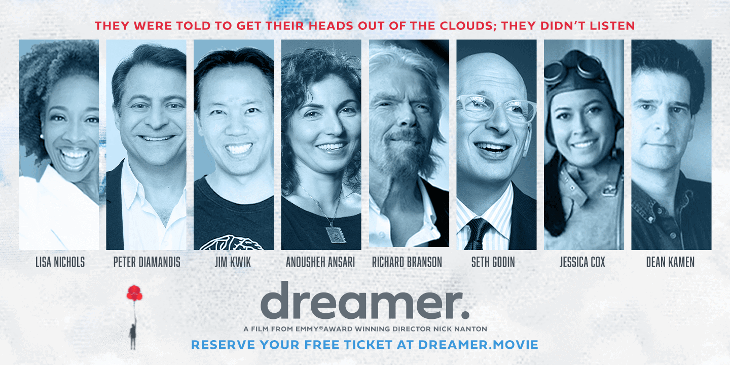 Movie poster for Dreamer the movie documentary