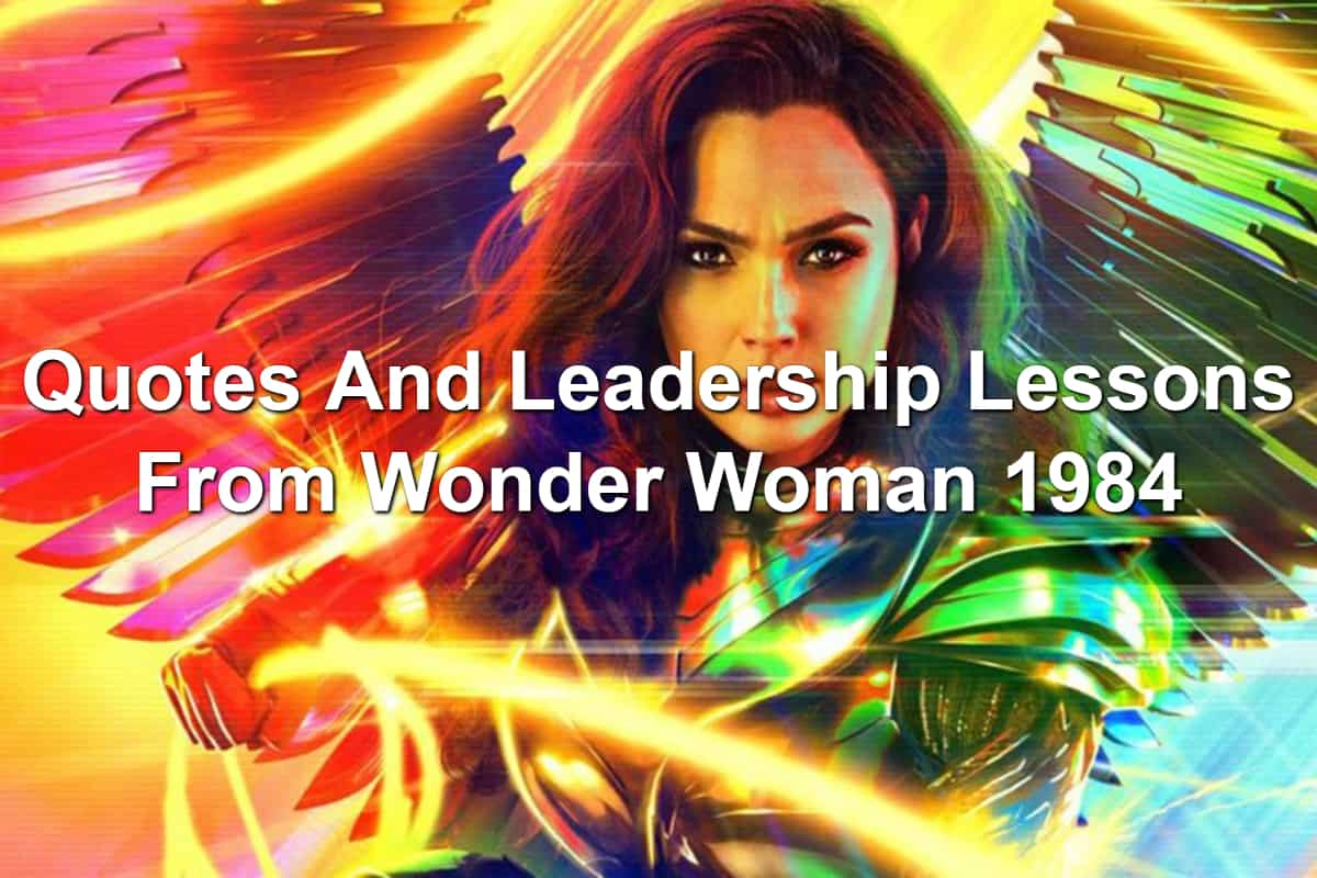 Gal Gadot as Wonder Woman in Wonder Woman 1984 with colorful background