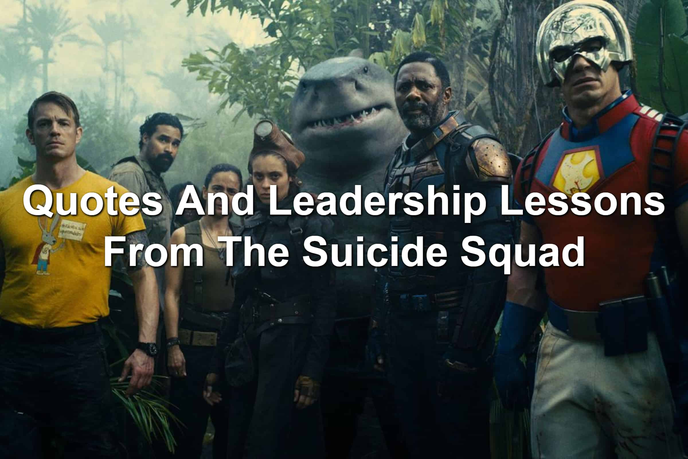 Cast of The Suicide Squad