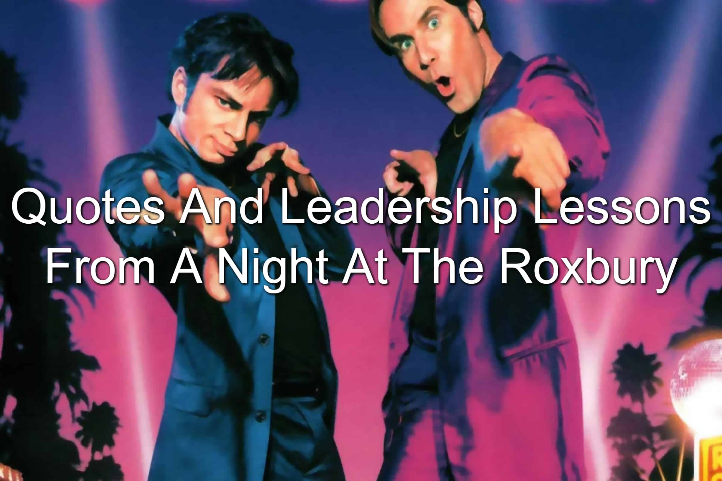 Chris Kattan and Will Ferrell in A Night At The Roxbury